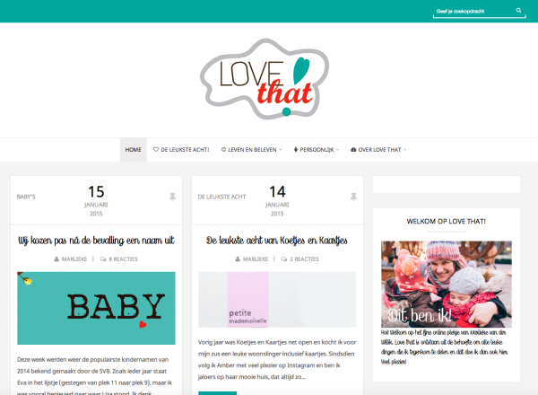 lovethat-website
